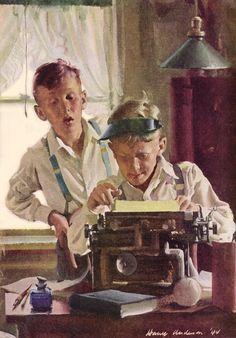 Good Housekeeping – Harry Anderson Art Scott Howard, Harry Anderson, Easter Parade, Good Housekeeping, The Duff, Painting & Drawing, Illustrators, American, Gallery
