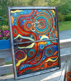 Beautiful Mosaic by Amanda Edwards (mandolinmosaics), via Flickr
