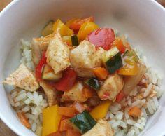 Rezept Hähnchen und Gemüse süss-sauer von Maxismutti - Rezept der Kategorie Hauptgerichte mit Fleisch