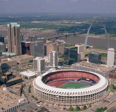 Busch Stadium (Old) - St. Louis, MO