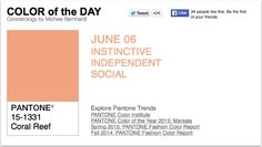 APPart – Mobile Art – Pantone Color of the Day – 'Coral Reef' – TheAppWhisperer
