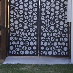 Sanctum design gallery showcases fresh ideas in feature screens & gates Fence Screening, Backyard Landscaping, Metal Working, Gate, Explore, Landscape, Gallery, Screens, Design