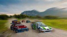 Turbo Rally - Impresionante juego de rallys, ponte al mando de tu coche y llega a la meta recogiendo todas las monedas posibles. Derrapa y haz giros imposibles para llegar el primero.