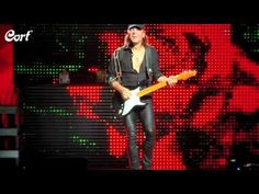 Matthias Jabs of the Scorpions. New Cort Signature Model Guitar
