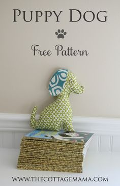 Check out this Free Puppy Dog Stuffed Animal Pattern by Lindsay Wilkes from The Cottage Mama. A great handmade gift idea for your little ones.