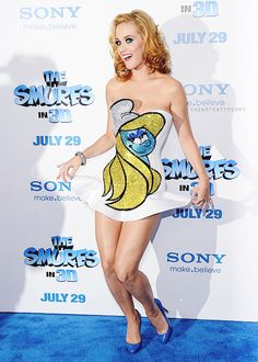 Katy Perry at The Smurfs premiere