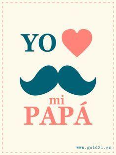 Feliz dia del padre.