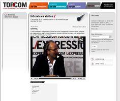 ITW Pascal Macé, DG CITOTEL sur le site www.topcom.fr    Pour revoir l'interview, cliquez ici : http://www.topcom.fr/index.php?option=com_intervideo=viewdetail=2319=59