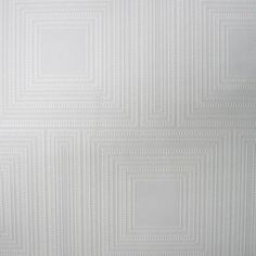 Graham & Brown Square Panel Paintable White Wallpaper | from hayneedle.com
