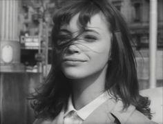 "Anna Karina as Veronica Dreyer in ""Le petit soldat"" (1963)"