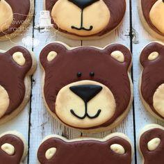 Custom Cakes, Picnic, Sweet Treats, Teddy Bear, Sugar, Traditional, Cookies, Desserts, Food