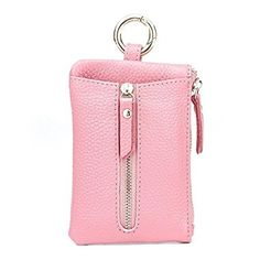 5e7eafbb8c82 Aladin Womens Leather Key Case  Zipper Coin Purse  Card Holder Wallet Key