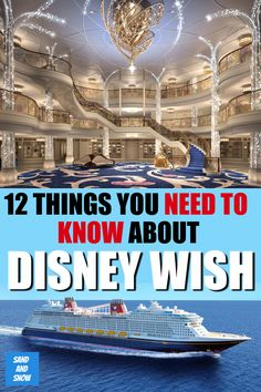 12 Things to Know about the Disney Wish Best Cruises For Couples, Best Family Vacations, Family Travel, Disney Dream Cruise, Disney Cruise Tips, Carnival Cruise Tips, Disney Wishes, Cruise Port, Royal Caribbean