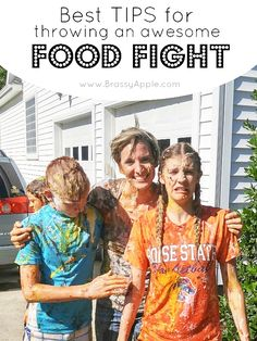 Best tips for a food fight - BrassyApple.com
