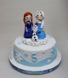 Frozen Cake by Violeta Glace