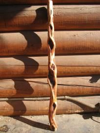 Wicca Diamond willow walking stick/cane. I want several