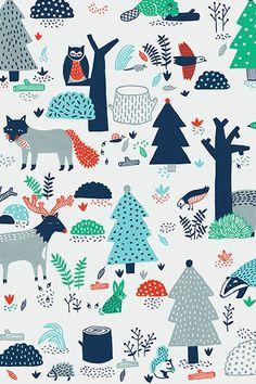 The woodland - Steffie Brocoli