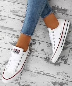 "6f799501566374 Shop now with the link in the bio 👏  pinkboutique  pinkboutiqueuk"".  Converse GrisWomen s Converse ShoesConverse FashionConverse ..."