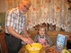 Baking Bran Muffins with Grampa - I love my Grampa, we bake together, play together, he is a lot of fun. We baked Bran Muffins, Mama took photos and we posted our recipe. Hope you like it! Bran Muffins, Play, Baking, Fun, Recipes, Photos, Pictures, Bakken, Backen