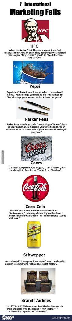 Advertising Gone Bad: Marketing Fails