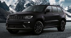 Jeep Grand Cherokee S Launches In Europe All Blacked Out #news #Jeep