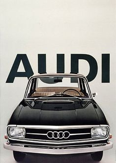 Why this pin? Because Audi makes great cars. Audi makes some superb cars. My first car was Then when we got kids we upgraded into and then Now our car is new Audi - because I'm worth it. Luxury Sports Cars, Audi Sports Car, Audi Cars, Sport Cars, Ferrari, Poster Vintage, Vintage Ads, Vintage Sport, Design Vintage