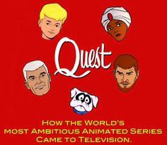 Jonny Quest---I loved Haji & Bandit but thought Jonny was a twerp