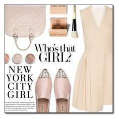 """""""Untitled #947"""" by fashion-pol ❤ liked on Polyvore featuring Victoria Beckham, Louis Vuitton, Miu Miu, H&M, Bobbi Brown Cosmetics and Terre Mère"""
