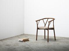 Stuhl aus Holz mit Armlehnen VALERIE   Stuhl - Miniforms