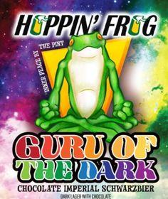 Hoppin' Frog - Guru Of The Dark    http://www.beer-pedia.com/index.php/news/19-global/5576-hoppin-frog-guru-of-the-dark    #beerpedia #hoppinfrogbrewery #schwarzbier #beerblog #beernews #newrelease #newlabel #craftbeer #μπύρα #beer #bier #biere #birra #cerveza #pivo #alus
