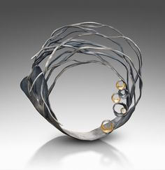 Beverly Tadeu branched brooch