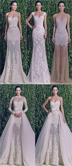 zuhair murad wedding dress. Esse do meio, eu queroooo!