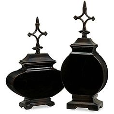 @Overstock.com - This attractive set of canisters is an elegant addition to any home. Crafted of ceramics and metal, these canisters are made by artisans in China.http://www.overstock.com/Home-Garden/Set-of-2-Argento-North-Star-Canisters/5179542/product.html?CID=214117 $87.99
