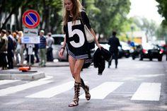 Milan Fashion Week Spring 2016, Day 6 - Milan Fashion Week Spring 2016 Street Style, Day 6 | W Magazine