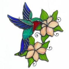 Image result for stained glass panels/flowers and birds #StainedGlassLight