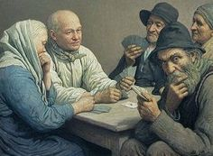 Best Playing Cards In Art Images On Pinterest Playing Card - Who painted the card players