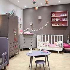 Chambre jumeaux on pinterest twin nurseries twin and cribs - Chambre bebe lit commode ...