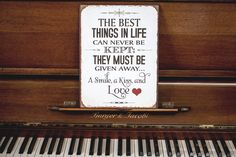 Best things in Life Wise Quotes, Life Is Good, Wisdom, Good Things, Thoughts, Signs, Decor, Life, Decoration