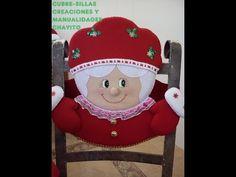 """Creaciones y Manualidades """"Chayito"""": pintando los ojos de la sra santa Christmas Stockings, Christmas Ornaments, Xmas, Teddy Bear, Make It Yourself, Halloween, Holiday Decor, Home Decor, Google"""