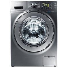 Buy Samsung WD806U4SAGD Washer Dryer, 8kg wash / 5kg dry load, 1400rpm Spin, Graphite Online at johnlewis.com
