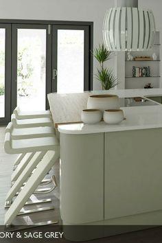 Kücheninsel, Kochinsel, Mintgrün, Grüne Küche, Küche Mint, Küche Mintgrün,  Küchenfarbe