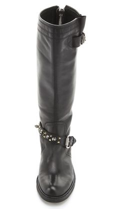 I want these boots soooooo bad! Sam Edelman Ashlyn Tall Flat Boots