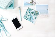 Styled Stock Desk Mint Photo by Petra Veikkola on @creativemarket
