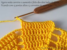 Diandra Arte em Crochê: PAP- TRILHO DE MESA RAIO DE SOL Crochet Bikini, Crochet Top, Lana, Create Your Own, Weaving, Knitting, Women, Crochet Dresses, Fashion