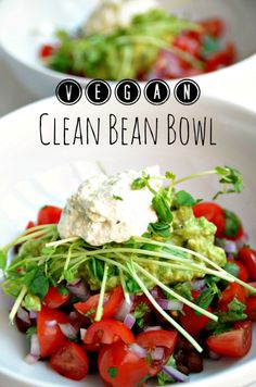 Vegan Clean Bean Bowl