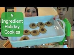 Yum! ▶ 5 ingredient holiday cookies #YouTube #KraftHolidaySavings