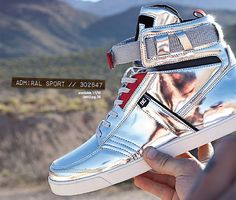 DC Shoes Life Metallic Silver Admiral Sport