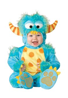 Lil' Monster Infant/Toddler Costume #halloween #costumes
