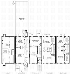 1000 images about floor plan ideas on pinterest for Multi family apartment floor plans