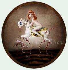 Cavalli a dondolo..